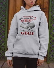 NEVER KNEW HOW MUCH LOVE MY HEART - GIGI Hooded Sweatshirt apparel-hooded-sweatshirt-lifestyle-front-03