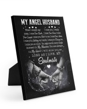 YOU ARE ALWAYS IN MY HEART - BEST GIFT FOR HUSBAND 8x10 Easel-Back Gallery Wrapped Canvas thumbnail