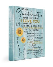 YOU ARE MY SUNSHINE - BEST GIFT FOR GRANDDAUGHTER 11x14 Gallery Wrapped Canvas Prints front