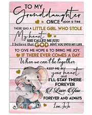 I LOVE YOU - AMAZING GIFT FOR GRANDDAUGHTER 11x17 Poster front