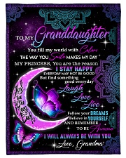 """I STAY HAPPY - AMAZING GIFT FOR GRANDDAUGHTER  Small Fleece Blanket - 30"""" x 40"""" front"""