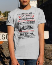 I ASKED GOD - BEST GIFT FOR SON-IN-LAW Classic T-Shirt apparel-classic-tshirt-lifestyle-29