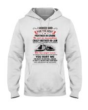 I ASKED GOD - BEST GIFT FOR SON-IN-LAW Hooded Sweatshirt tile