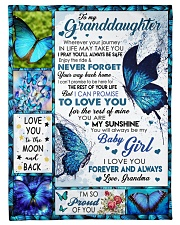 """YOUR WAY BACK HOME - GREAT GIFT FOR GRANDDAUGHTER Small Fleece Blanket - 30"""" x 40"""" thumbnail"""