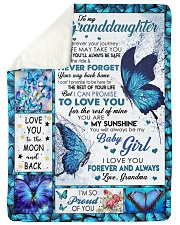 """YOUR WAY BACK HOME - GREAT GIFT FOR GRANDDAUGHTER Large Sherpa Fleece Blanket - 60"""" x 80"""" thumbnail"""