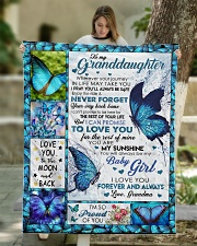 """YOUR WAY BACK HOME - GREAT GIFT FOR GRANDDAUGHTER Quilt 50""""x60"""" - Throw aos-quilt-50x60-lifestyle-front-01"""