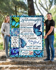 """YOUR WAY BACK HOME - GREAT GIFT FOR GRANDDAUGHTER Quilt 50""""x60"""" - Throw aos-quilt-50x60-lifestyle-front-04"""
