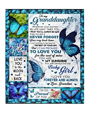 """YOUR WAY BACK HOME - GREAT GIFT FOR GRANDDAUGHTER Quilt 50""""x60"""" - Throw front"""