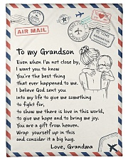 """YOU'RE THE BEST THING - GIFT FOR GRANDSON Small Fleece Blanket - 30"""" x 40"""" front"""