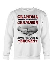 CAN'T BE BROKEN - GIFT FOR GRANDMA AND GRANDSON Crewneck Sweatshirt tile