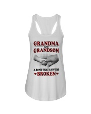 CAN'T BE BROKEN - GIFT FOR GRANDMA AND GRANDSON Ladies Flowy Tank tile