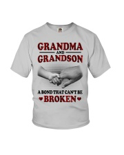 CAN'T BE BROKEN - GIFT FOR GRANDMA AND GRANDSON Youth T-Shirt tile