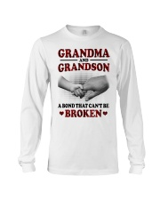 CAN'T BE BROKEN - GIFT FOR GRANDMA AND GRANDSON Long Sleeve Tee tile