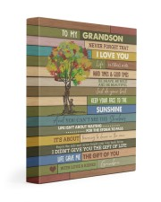 THE GIFT OF YOU - SPECIAL GIFT FOR GRANDSON 11x14 Gallery Wrapped Canvas Prints front