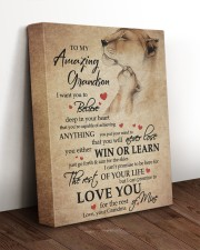DEEP IN YOUR HEART - GRANDMA TO GRANDSON 11x14 Gallery Wrapped Canvas Prints aos-canvas-pgw-11x14-lifestyle-front-17