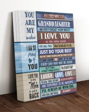 JUST DO YOUR BEST - NANNY TO GRANDDAUGHTER 11x14 Gallery Wrapped Canvas Prints aos-canvas-pgw-11x14-lifestyle-front-17