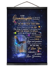YOU ARE MADE OF STARS - GRANDMA TO GRANDDAUGHTER 12x16 Black Hanging Canvas thumbnail