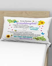 STUFFED IN HERE - BEST GIFT FOR GRANDDAUGHTER Rectangular Pillowcase aos-pillow-rectangular-front-lifestyle-02