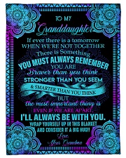 """I'LL ALWAYS BE WITH YOU - GIFT FOR GRANDDAUGHTER Small Fleece Blanket - 30"""" x 40"""" front"""