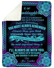 I'LL ALWAYS BE WITH YOU - GIFT FOR GRANDDAUGHTER Sherpa Fleece Blanket tile