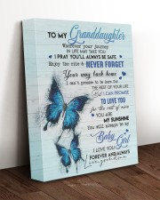 NEVER FORGET - BEST GIFT FOR GRANDDAUGHTER 11x14 Gallery Wrapped Canvas Prints aos-canvas-pgw-11x14-lifestyle-front-17
