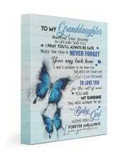 NEVER FORGET - BEST GIFT FOR GRANDDAUGHTER 11x14 Gallery Wrapped Canvas Prints front