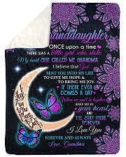 I LOVE YOU - GRANDDAUGHTER GIFT WITH BUTTERFLY Sherpa Fleece Blanket tile