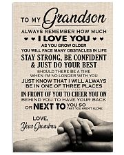 I LOVE YOU - TO GRANDSON FROM GRANDMA 11x17 Poster front