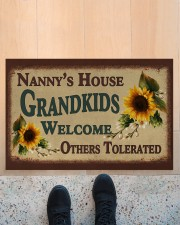 """WELCOME OTHERS TOLERATED - GREAT GIFT FOR NANNY Doormat 22.5"""" x 15""""  aos-doormat-22-5x15-lifestyle-front-10"""