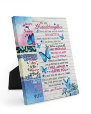 YOU ARE MY SUNSHINE - GREAT GIFT FOR GRANDDAUGHTER 8x10 Easel-Back Gallery Wrapped Canvas thumbnail