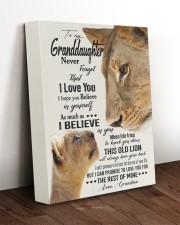I BELIEVE IN YOU - PERFECT GIFT FOR GRANDDAUGHTER 11x14 Gallery Wrapped Canvas Prints aos-canvas-pgw-11x14-lifestyle-front-17