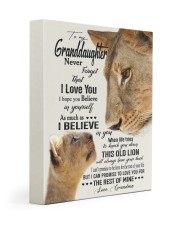 I BELIEVE IN YOU - PERFECT GIFT FOR GRANDDAUGHTER 11x14 Gallery Wrapped Canvas Prints front