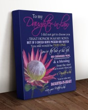 YOU'RE THE LOVE - SPECIAL GIFT FOR DAUGHTER-IN-LAW 11x14 Gallery Wrapped Canvas Prints aos-canvas-pgw-11x14-lifestyle-front-17