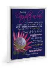 YOU'RE THE LOVE - SPECIAL GIFT FOR DAUGHTER-IN-LAW 11x14 White Floating Framed Canvas Prints thumbnail