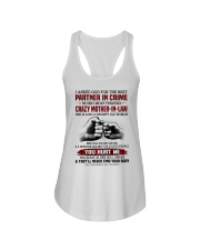 PARTNER IN CRIME - GREAT GIFT FOR DAUGHTER-IN-LAW Ladies Flowy Tank tile