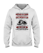 PARTNER IN CRIME - GREAT GIFT FOR DAUGHTER-IN-LAW Hooded Sweatshirt tile