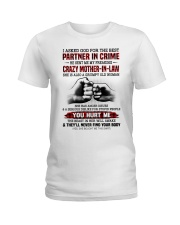 PARTNER IN CRIME - GREAT GIFT FOR DAUGHTER-IN-LAW Ladies T-Shirt tile