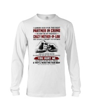 PARTNER IN CRIME - GREAT GIFT FOR DAUGHTER-IN-LAW Long Sleeve Tee tile