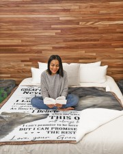 """1 DAY LEFT - GET YOURS NOW Large Sherpa Fleece Blanket - 60"""" x 80"""" aos-sherpa-fleece-blanket-60x80-lifestyle-front-08"""
