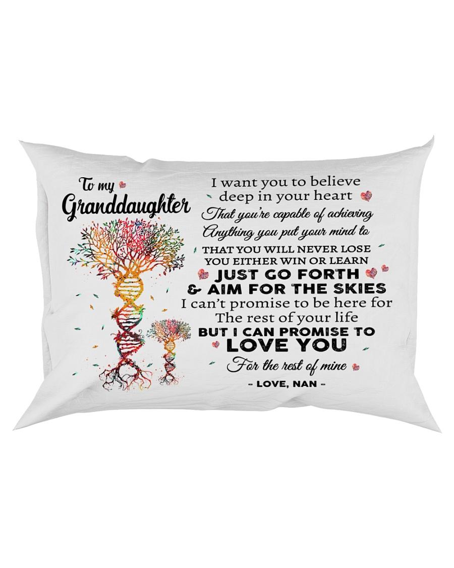 DEEP IN YOUR HEART - NAN TO GRANDDAUGHTER Rectangular Pillowcase