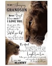 I'LL ALWAYS BE WITH YOU - GREAT GIFT FOR GRANDSON 11x17 Poster front
