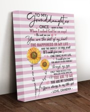 MY LIFE - LOVELY MESSAGE GIFT FOR GRANDDAUGHTER 11x14 Gallery Wrapped Canvas Prints aos-canvas-pgw-11x14-lifestyle-front-17