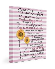 MY LIFE - LOVELY MESSAGE GIFT FOR GRANDDAUGHTER 11x14 Gallery Wrapped Canvas Prints front