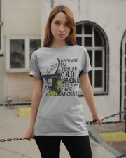 I'M JUST AN OLD GRANDMA - PERFECT GIFT FOR GRANDMA Classic T-Shirt apparel-classic-tshirt-lifestyle-19