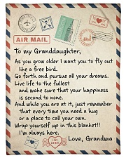 """YOU NEED A HUG - GREAT GIFT FOR GRANDDAUGHTER Small Fleece Blanket - 30"""" x 40"""" front"""