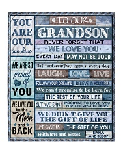 "BELIEVE IN YOURSELF - AMAZING GIFT FOR GRANDSON Quilt 50""x60"" - Throw front"