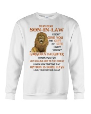 OPTION IS SOME DAYS - BEST GIFT FOR SON-IN-LAW Crewneck Sweatshirt thumbnail
