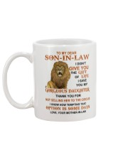 OPTION IS SOME DAYS - BEST GIFT FOR SON-IN-LAW Mug back
