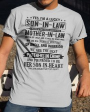 PARTNERS IN CRIME - GREAT GIFT FOR SON-IN-LAW Classic T-Shirt apparel-classic-tshirt-lifestyle-28
