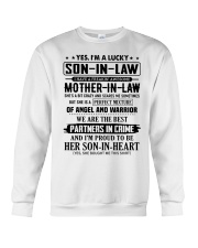 PARTNERS IN CRIME - GREAT GIFT FOR SON-IN-LAW Crewneck Sweatshirt tile